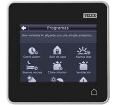 Mando control tactil VELUX