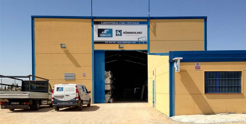Fábrica ventanas PVC Indalco